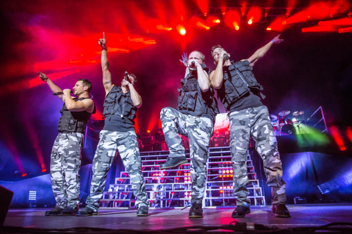 98 degrees perform at the ford amphitheater in 2016 photo by joe russorexshutterstock - 98 Degrees Christmas