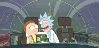 """Screenshot from """"Rick and Morty"""""""
